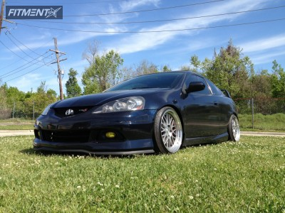 2004 Acura RSX - 18x9.5 22mm - Varrstoen ES111 - Lowered Adj Coil Overs - 225/40R18