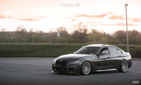 2015 BMW 335i xDrive - 19x8.5 35mm - Rotiform Rse - Coilovers - 235/35R19