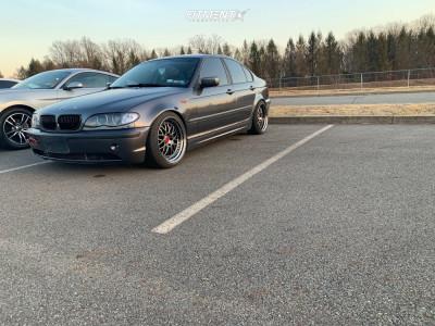 2003 BMW 330xi - 18x9.5 22mm - ESR Sr01 - Coilovers - 225/40R18