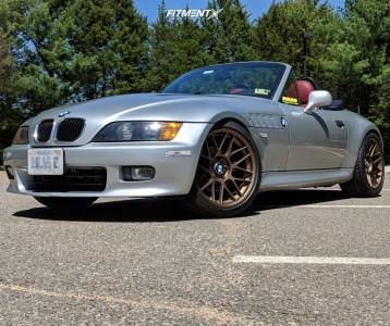 1999 BMW Z3 - 18x9 30mm - Apex Arc-8 - Lowering Springs - 235/40R18