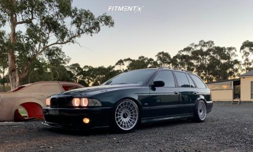 1997 BMW 528i - 18x9.5 25mm - Rotiform Las-r - Coilovers - 235/40R18