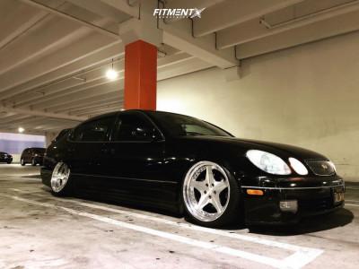 2001 Lexus GS430 - 19x9.5 13mm - Leon Hardiritt Ordens - Air Suspension - 225/35R19
