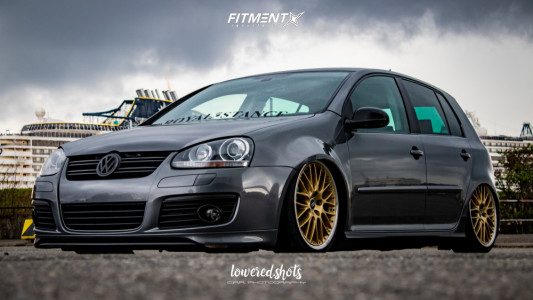 2006 Volkswagen Golf - 19x8.5 48mm - BBS Rs - Lifted - 215/35R19
