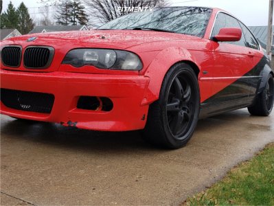 2000 BMW 328Ci - 19x8.5 35mm - MRR Gt5 - Coilovers - 245/35R19