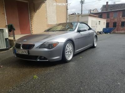 2006 BMW 650i - 19x8.5 40mm - TSW Hockenheim S - Lowering Springs - 245/40R19