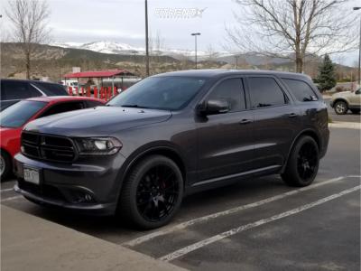 2014 Dodge Durango - 22x9.5 35mm - OE Performance 161 - Stock Suspension - 285/40R22