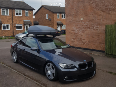 2007 BMW 3 Series - 18x8.5 35mm - Fifteen52 Tarmac - Coilovers - 215/35R18