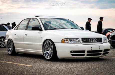 2001 Audi S4 - 18x9.5 35mm - Rotiform Spf - Coilovers - 225/40R18