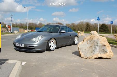 2003 Porsche 911 - 18x9 49mm - Eta Beta Turbo - Coilovers - 215/35R18