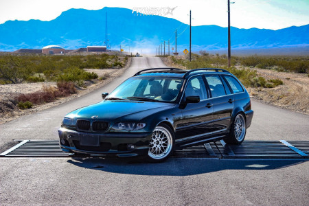 2004 BMW 325xi - 18x9 35mm - BBS Rsii - Coilovers - 225/40R18