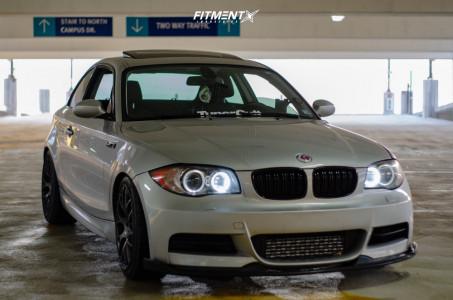 2009 BMW 135i - 18x8.5 45mm - VMR V710ff - Lowering Springs - 225/40R18