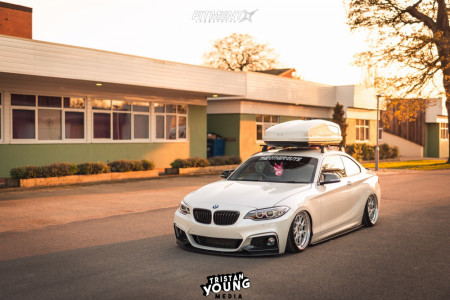 2017 BMW 230i - 18x8.5 45mm - 3SDM 3.01 - Air Suspension - 205/40R18