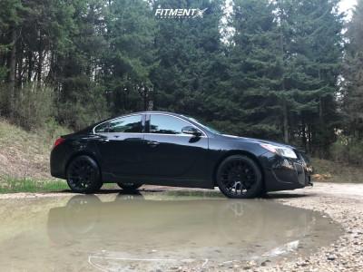 2012 Buick Regal - 20x10 35mm - Beyern Spartan - Stock Suspension - 255/35R20