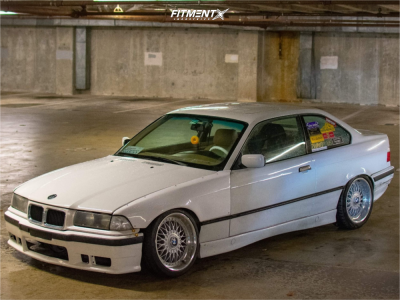 1996 BMW 328is - 17x8 20mm - BBS Rc - Coilovers - 205/40R17