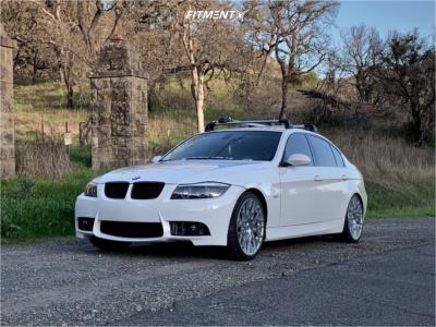 2007 BMW 3 Series - 19x9.5 20mm - TSW Vale - Stock Suspension - 235/35R19