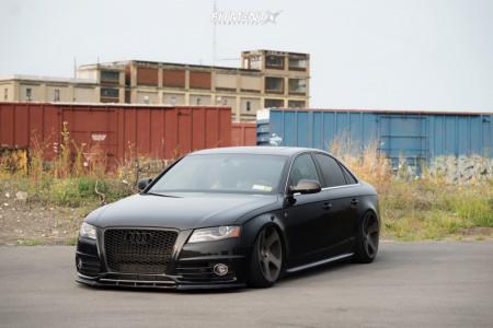 2010 Audi S4 - 19x10 35mm - Rotiform Tmb - Air Suspension - 235/35R19