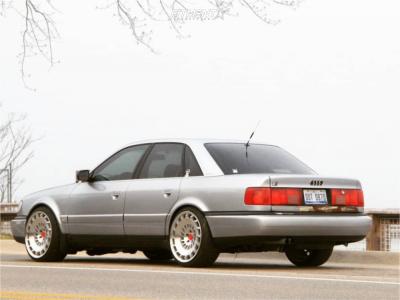 1997 Audi S6 - 19x10 35mm - Rotiform Ccv - Lowering Springs - 235/35R19