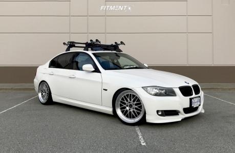 2009 BMW 3 Series - 19x9.5 35mm - ESR Sr05 - Coilovers - 225/35R19