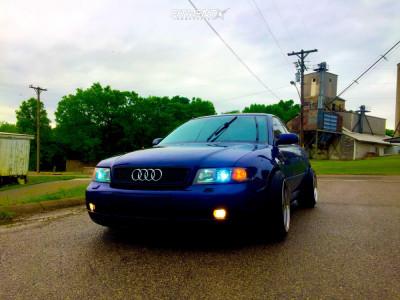 2001 Audi S4 - 17x10 25mm - JNC Jnc004 - Coilovers - 225/45R17