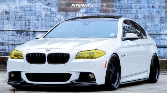 2013 BMW 550i - 20x10 23mm - Rotiform LGB - Coilovers - 255/30R20