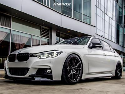 2016 BMW 340i - 19x8.5 35mm - Vorsteiner V-ff103 - Coilovers - 235/35R19