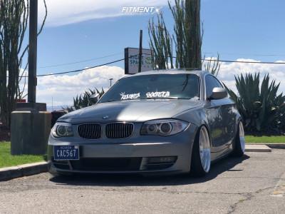 2010 BMW 128i - 18x9.5 35mm - Regen5 R32 - Coilovers - 195/35R18