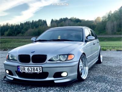 2000 BMW 3 Series - 18x9.5 22mm - ESR SR04 - Coilovers - 225/35R18