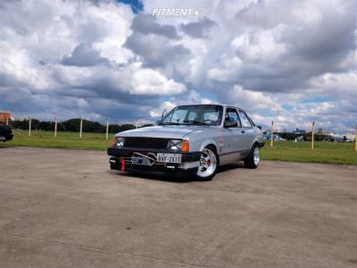 1993 Chevrolet Chevette - 15x8 20mm - Jnc Jnc010 - Lowering Springs - 195/50R15