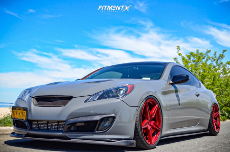 2010 Hyundai Genesis Coupe - 20x9 20mm - Incurve Lp5 - Air Suspension - 245/35R20