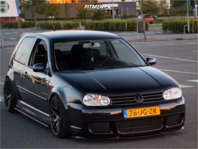 2002 Volkswagen Golf - 18x8.75 20mm - XXR 530 - Coilovers - 205/40R18