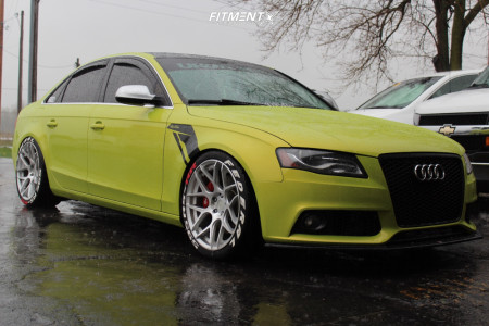 2011 Audi A4 Quattro - 19x9.5 35mm - Aodhan Ls002 - Air Suspension - 255/30R19