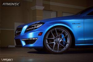 2012 Mercedes-Benz CLS550 - 20x9 30mm - Velgen VMB5 - Leveling Kit - 255/30R20