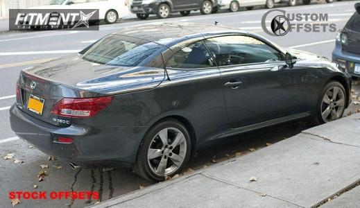 2006 Lexus  - 18x8 45mm - Stock Stock - Stock Suspension - 225/40R18