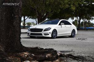 2012 Mercedes-Benz CLS550 - 20x9 30mm - Velgen VMB5 - Lowered Adj Coil Overs - 255/30R20