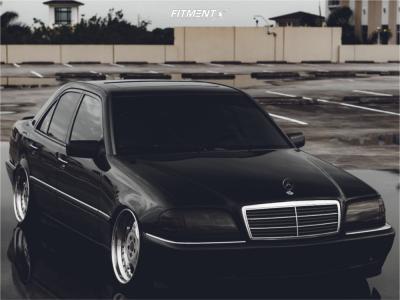 2000 Mercedes-Benz C230 - 18x9 25mm - Weds Kranze 5 Spoke - Coilovers - 215/40R18