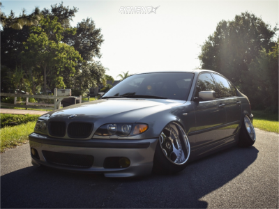 2004 BMW 330i - 17x10.5 6mm - Work VS SD - Coilovers - 215/40R17