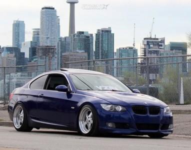 2007 BMW 328i - 18x9.5 22mm - ESR SR04 - Coilovers - 245/35R18