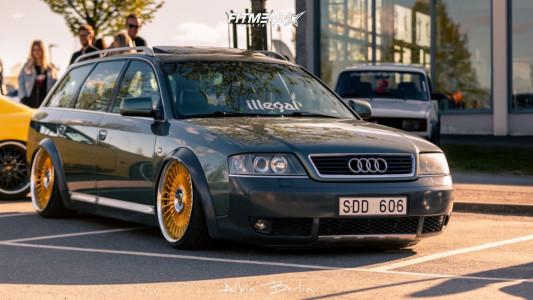 2001 Audi Allroad Quattro - 20x10.5 30mm - Work Emitz - Air Suspension - 245/30R20