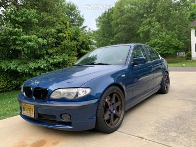 2003 BMW 330i - 18x8.5 30mm - ESR Sr07 - Stock Suspension - 235/35R18