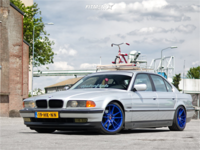 1995 BMW 740i - 18x8.5 34mm - Japan Racing Jr21 - Coilovers - 215/40R18