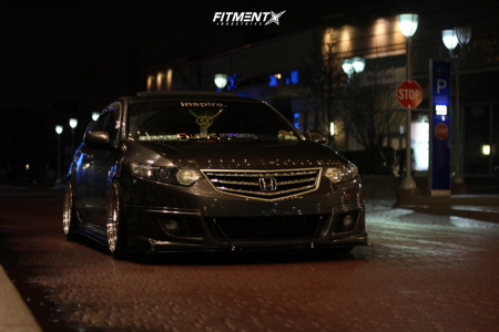2009 Acura TSX - 19x9.5 22mm - Aodhan Ds01 - Coilovers - 235/35R19