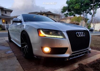 2009 Audi A5 Quattro - 20x10.5 27mm - Niche Targa - Coilovers - 275/30R20