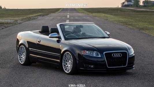 2006 Audi A4 Quattro - 19x9.5 37mm - Veemann VFS29R - Coilovers - 235/35R19