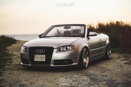 2007 Audi S4 - 18x9.5 35mm - Rotiform Tmb - Coilovers - 215/25R18