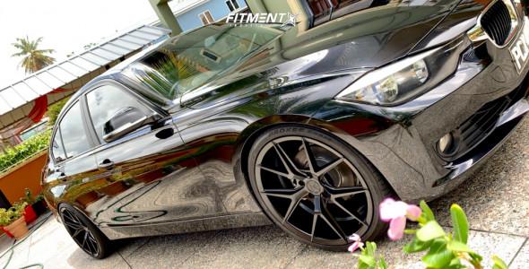 2013 BMW 320i - 20x9 35mm - Verde Axis - Lowering Springs - 245/35R20