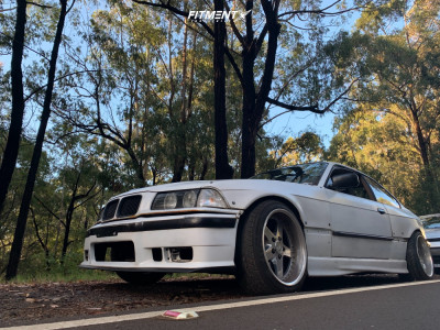 1997 BMW 328is - 17x9.5 15mm - Work Equip E05 - Lowering Springs - 215/45R17