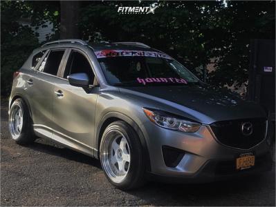 2013 Mazda CX-5 - 19x10.5 22mm - ESR Sr06 - Coilovers - 255/45R19