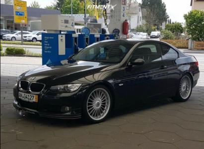 2009 BMW 3 Series - 19x8 35mm - Alpina Classic - Lowering Springs - 235/35R19
