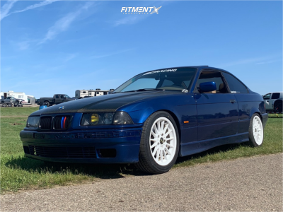 1998 BMW 323is - 17x7.5 41mm - BBS Style 32 - Coilovers - 225/45R17