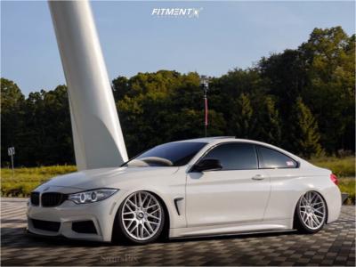 2014 BMW 428i xDrive - 19x8.5 35mm - Rotiform Rse - Air Suspension - 225/40R19